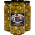 Double Stuffed Queen Olives with Garlic & Jalapeno