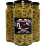 Double Stuffed Queen Olives with Pimento & Jalapeno