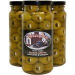 Double Stuffed Queen Olives with Pimento & Garlic
